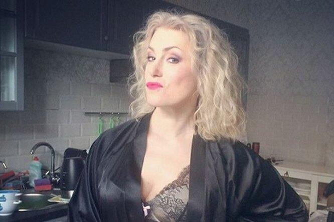 49-летняя Мария Шукшина показала фото всоблазнительном белье