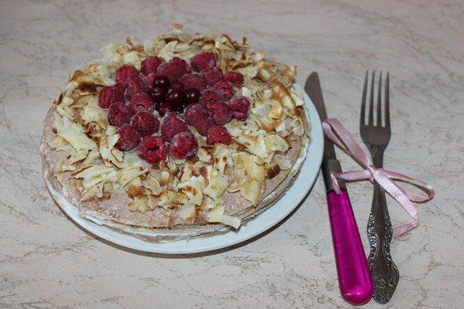 Блинный тортик «Весеннее настроение»