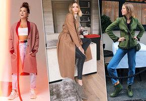 Носим модные джинсы этого сезона, как российские звезды