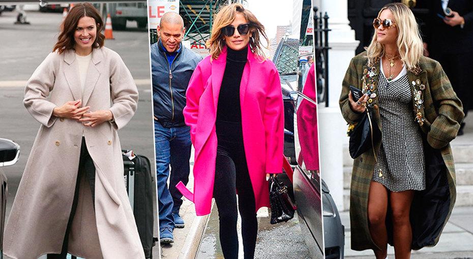 Кто, кто? Звезда впальто! 5 необычных способов носить пальто напримере звёзд