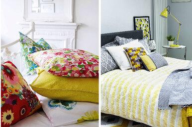 Спальня: обновляем краски!