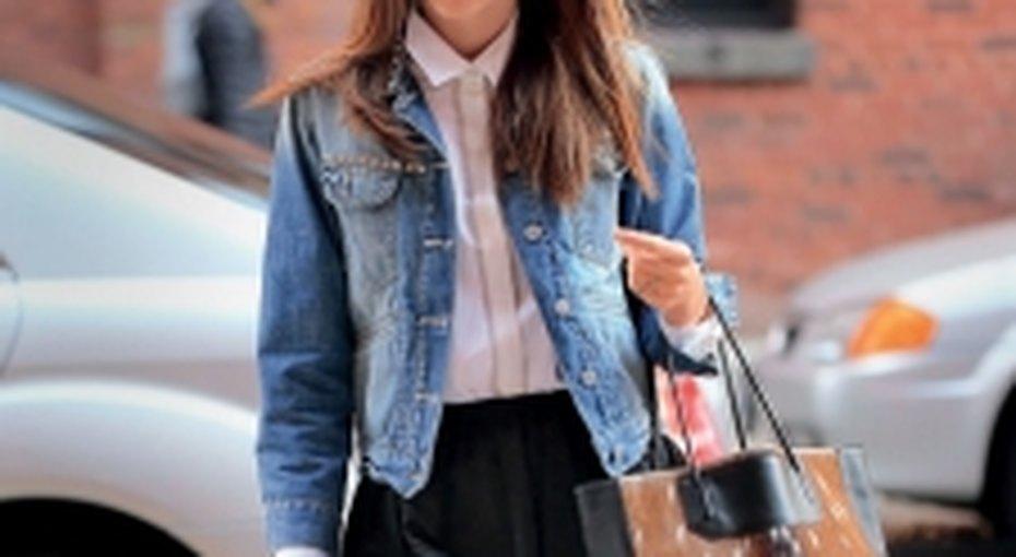 Звездный стиль: джинсовая куртка