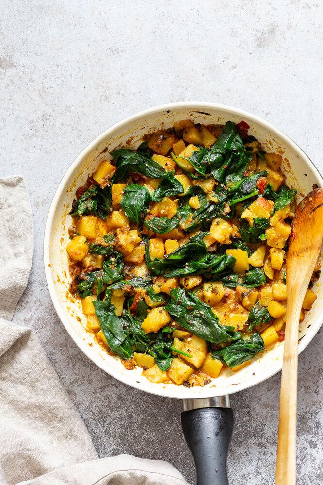 Рецепт гарнира с овощами