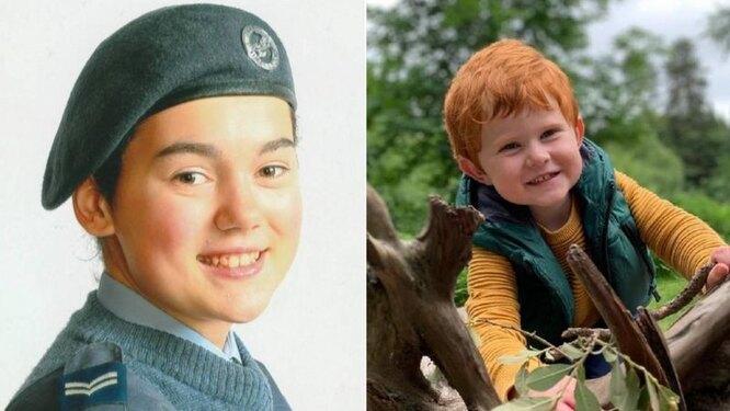 Олли Джоллифф (справа) получил живой трансплантат из органов, пожертвованных после смерти Мириам Ли в 2016 году.