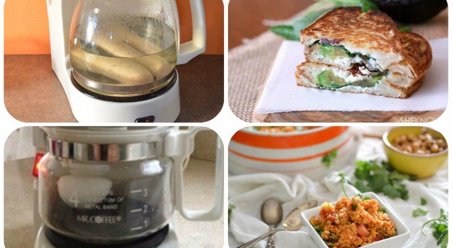 10 блюд, которые можно приготовить вобычной кофеварке