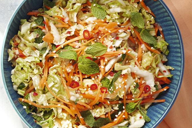 Азиатский капустный салат