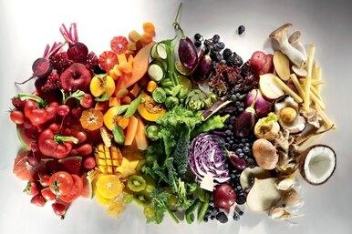 Как цвет еды влияет наее пользу