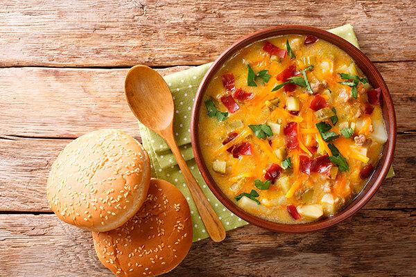 Рецепт острого морковного супа