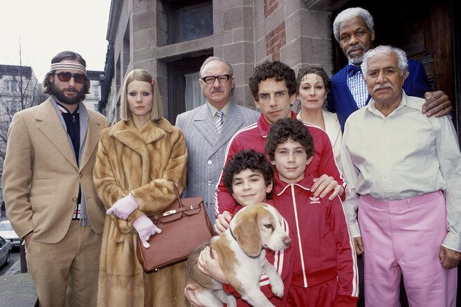"Кадр из фильма ""Семейка Тененбаум""    MMI TOUCHSTONE PICTURES. Все права защищены."