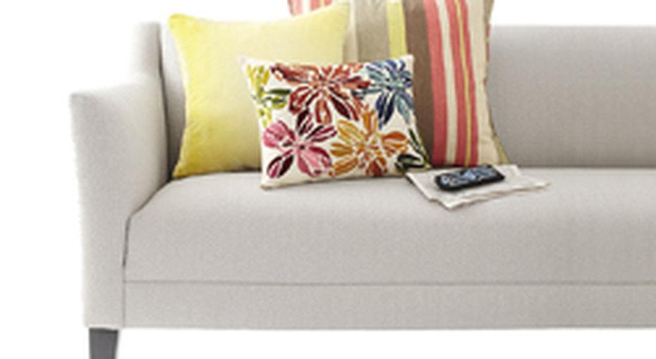Идеи декора: диванные подушки