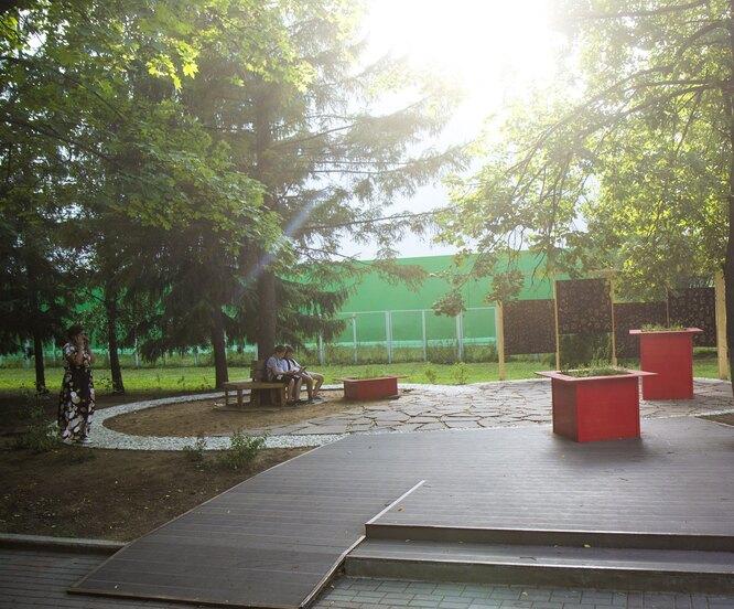 Тактильный парк