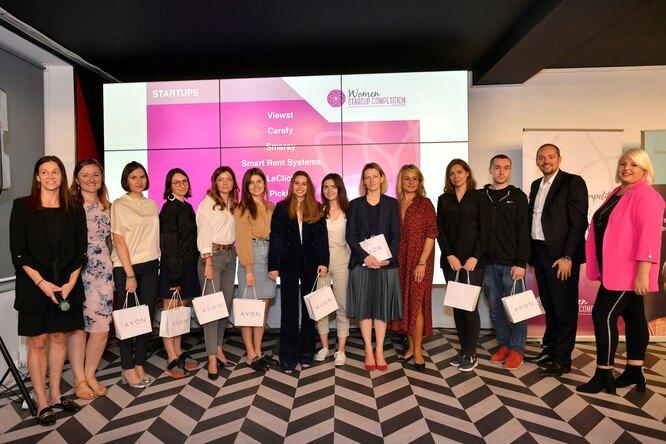 Финалистки конкурса женских стартапов