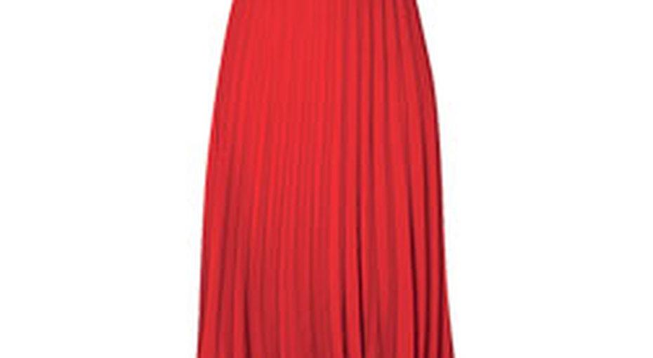 Звездный стиль: плиссированная юбка