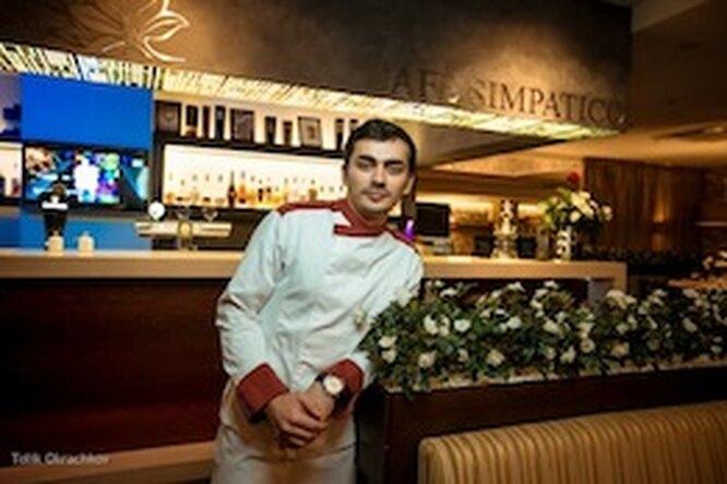 Новый шеф-повар испециальное меню вCafe Simpatico