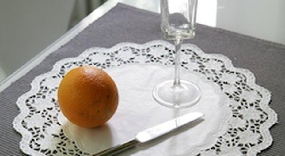 Предмет сервировки: ажурные салфетки