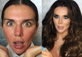 «Колоссальная разница»: Анна Седокова показала себя до и после макияжа