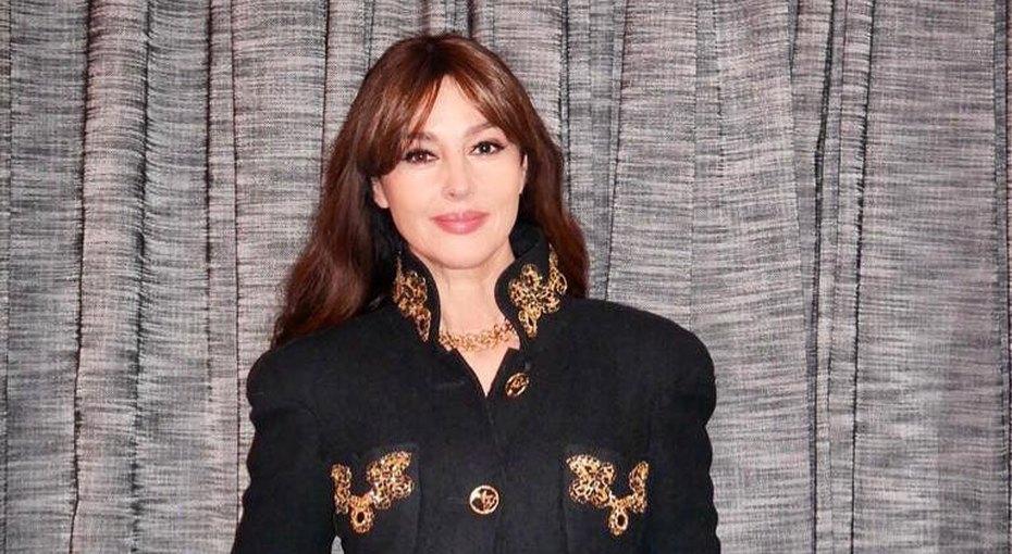 54-летняя Моника Белуччи вышла всвет с36-летним возлюбленным