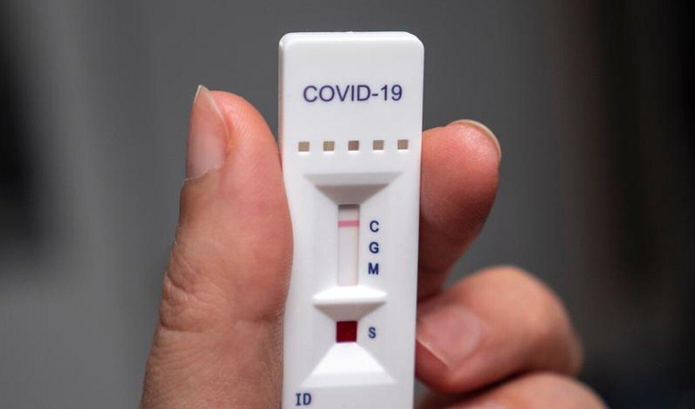 тест на корону, экспресс тест на коронавирус