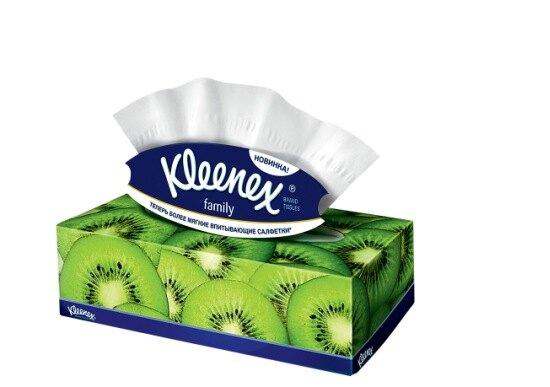 Мягкие салфетки Kleenex