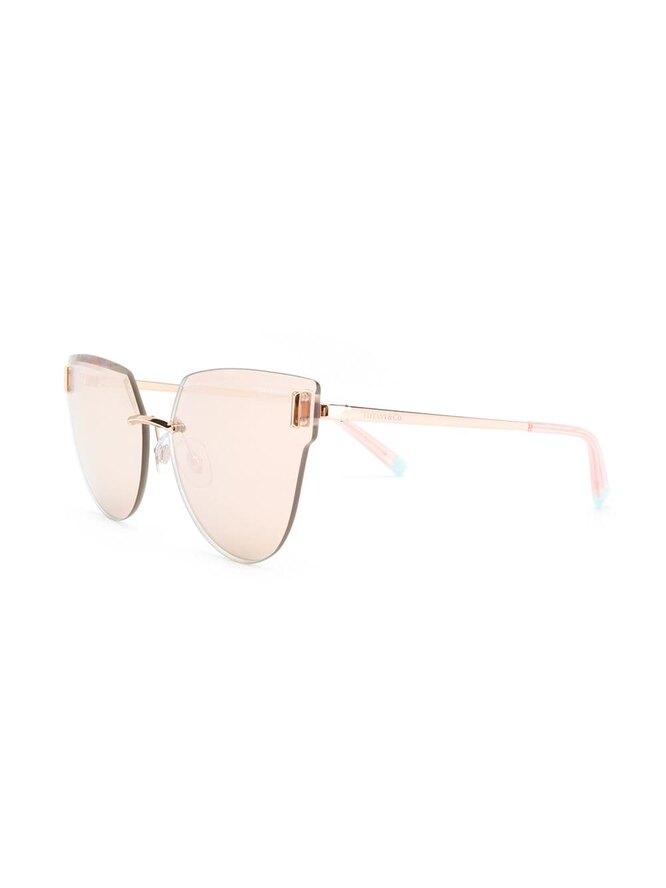 Cолнцезащитные очки в оправе кошачий глаз, Tiffany & Co Eyewear, 35028 руб