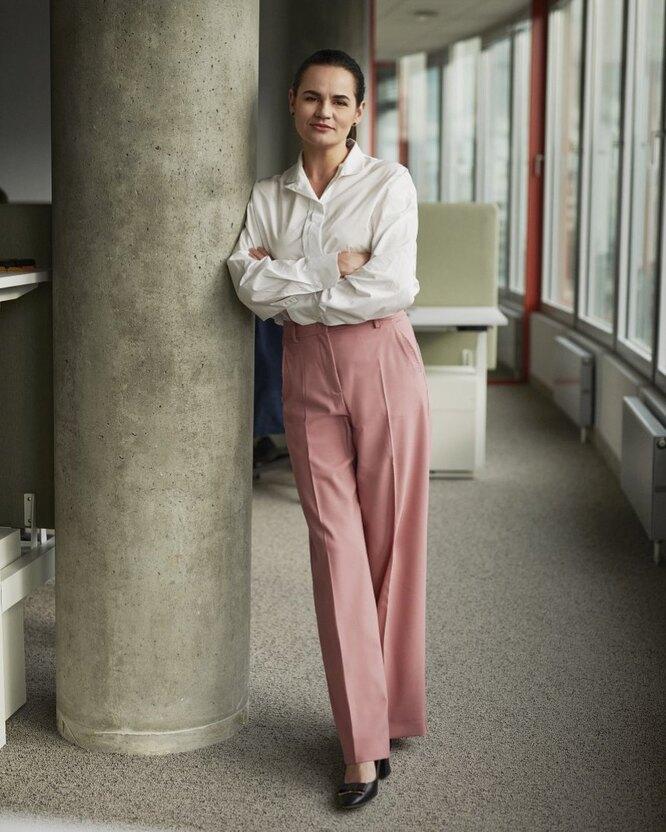 Светлана Тихановская, фото: @prezident.sveta фото