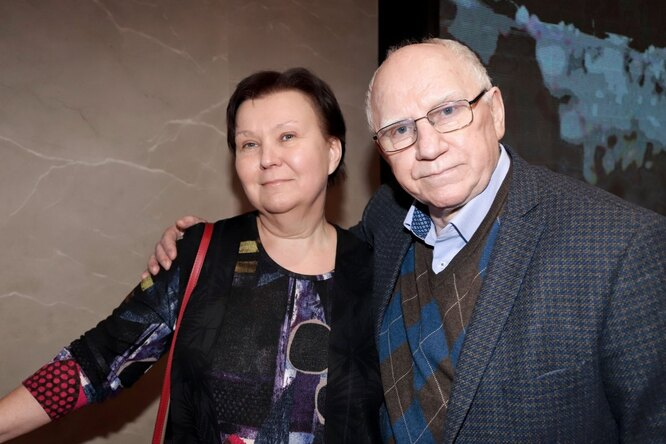 Валерий Баринов с женой Еленой