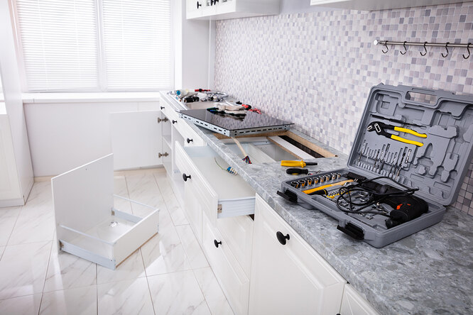 Теплее, еще теплее: ремонт вновостройке всамом сердце квартиры, шаг 9, кухня