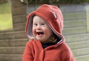 Мисс счастье: малышка с синдромом Дауна стала звездой рекламы
