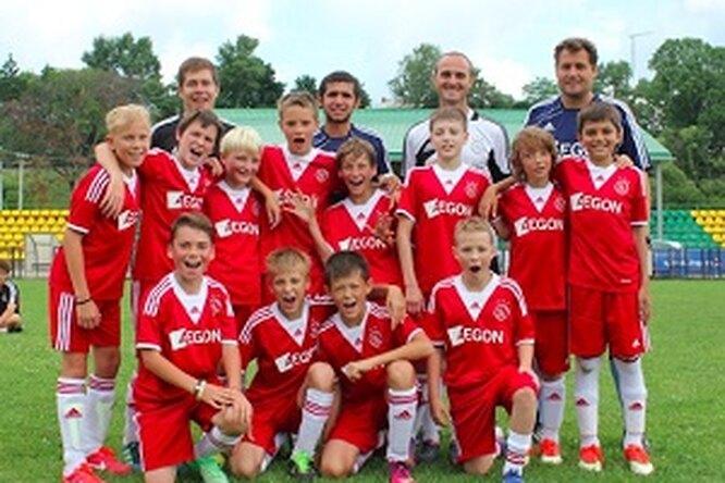 Летняя смена Ajax Camps – голландского футбольного лагеря вРоссии