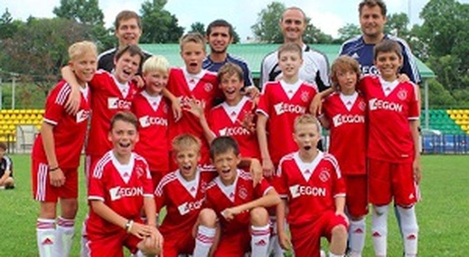 Летняя смена Ajax Camps - голландского футбольного лагеря вРоссии