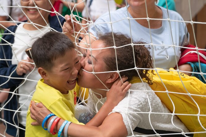 В X Всемирных играх победителей приняли участие 500 детей из15 стран