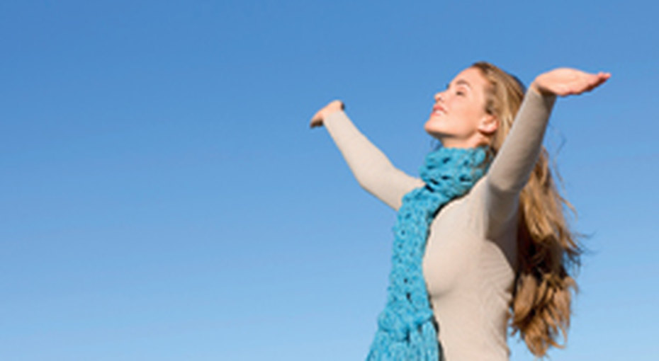 Голубое небо - лекарство отстресса