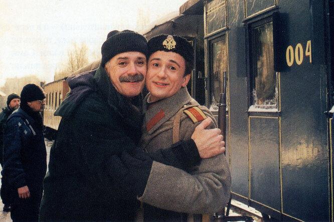 Кадр из фильма «Сибирский цирюльник»