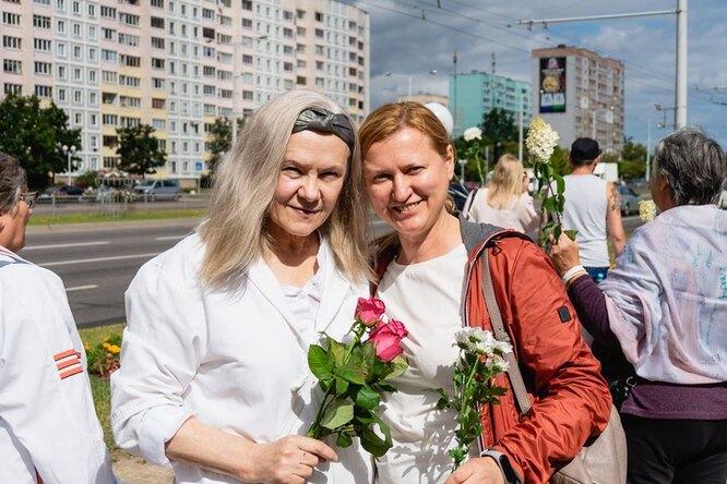 Белоруска Вера Ермакова: «Если 90-летние бабушки выходят напротест, значит, встране что-то меняется»