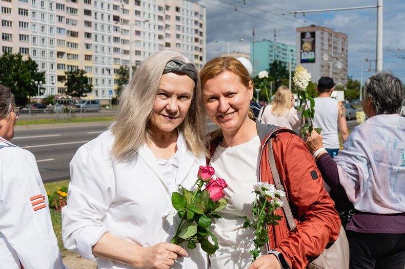 Белоруска Вера Ермакова: «Если 90-летние бабушки выходят на протест, значит, в стране что-то меняется»