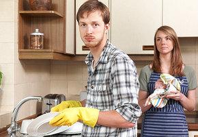 Няня для мужчины: как жена приучала мужа к домашней работе