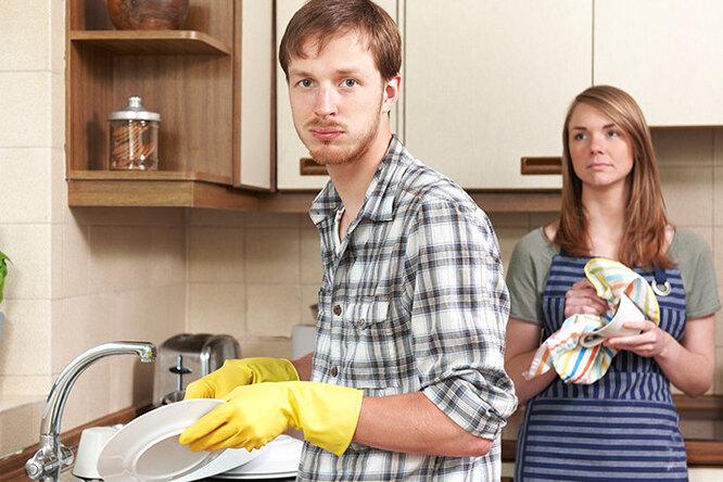 Няня длямужчины: как жена приучала мужа кдомашней работе