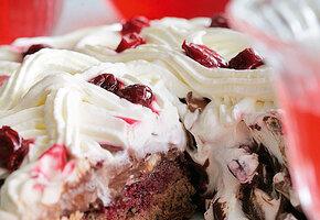 Торт «Черный лес» от Юлии Высоцкой