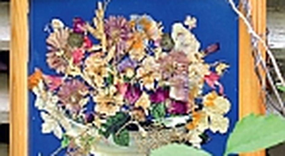 Картины изсухих цветов