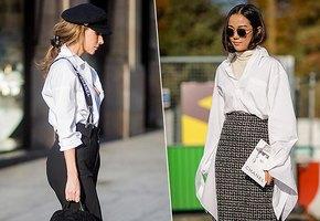 Как носить белую рубашку в 30, 40, 50 лет? Инструкция по применению