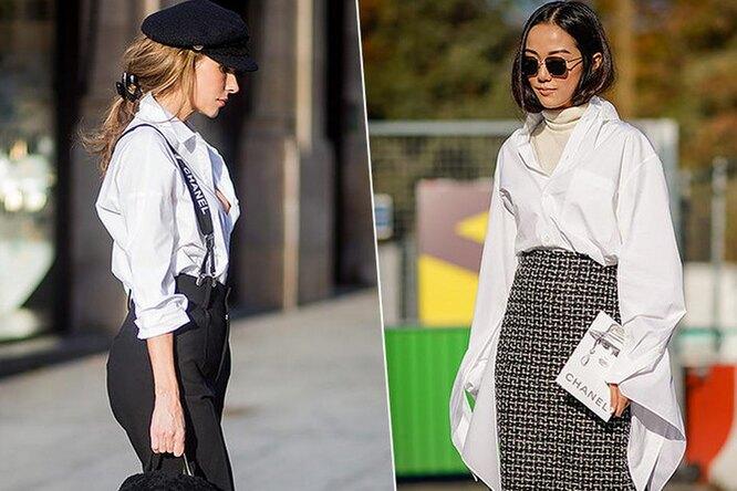 Как носить белую рубашку в30, 40, 50 лет? Инструкция поприменению