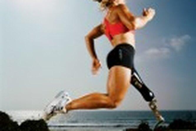 Сара Рейнертсен бьет все спортивные рекорды — безноги