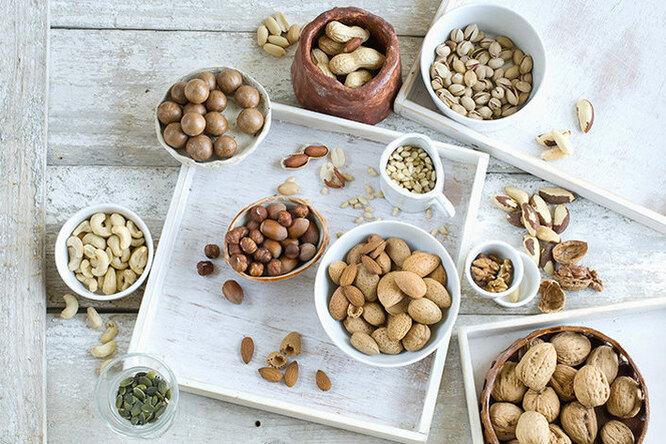 Орехи во время диеты – польза или вред?