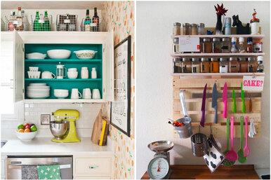 11 хитростей дляобустройства маленькой кухни