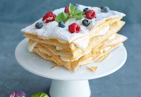 Ваш лучший Наполеон: три простых рецепта тортов к 8 Марта
