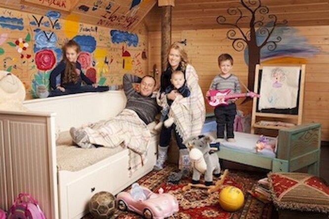 Выставка семейных фотопортретов вПарке Горького