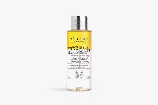 Двухфазное средство для снятия макияжа с календулой и иммортелем, L'Occitane