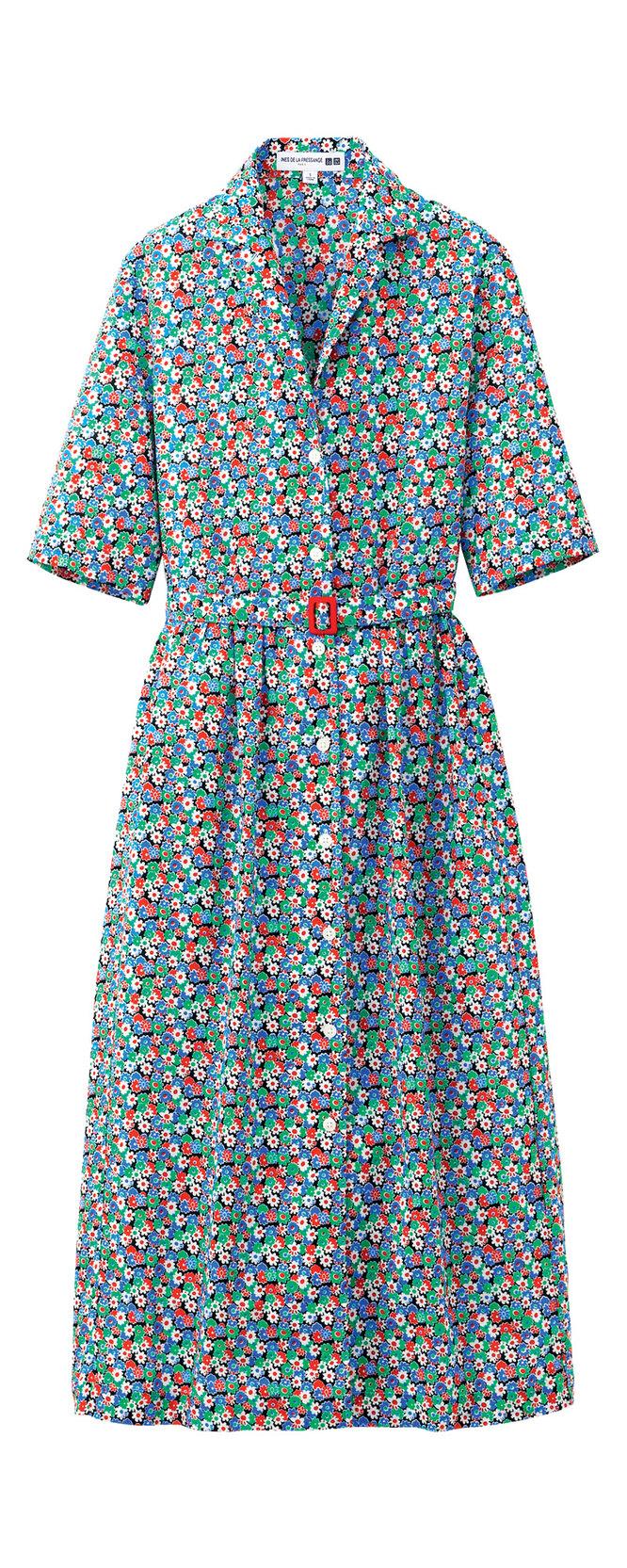 Платье Ines de la Fressange for Uniqlo