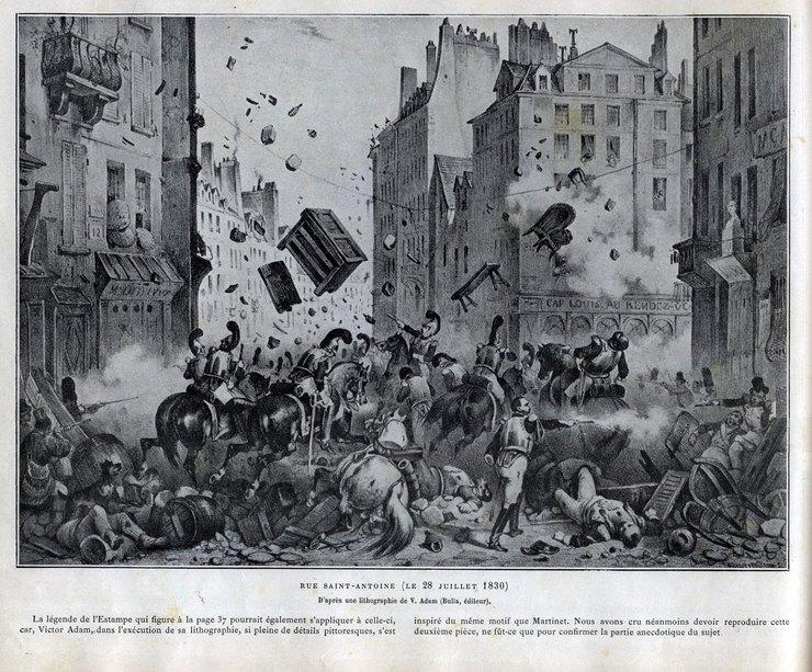 революция вПариже 1830г
