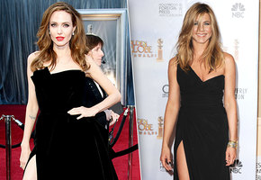 Повторяшки: Джоли и Энистон копируют друг друга?